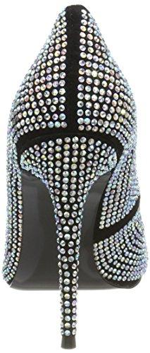 Scarpe Tacco Punta Col Dynomite black Pump Nero Chiusa Madden Steve Donna 4nWxXqwt4