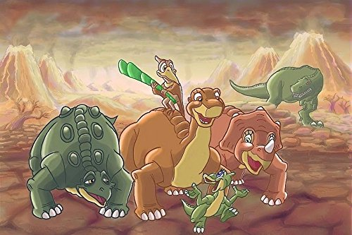 SDore LAND BEFORE TIME DINOSAURS Edible 1/4 Sheet Image Frosting Cake Topper Birthday - Delivery First Class Usps Times