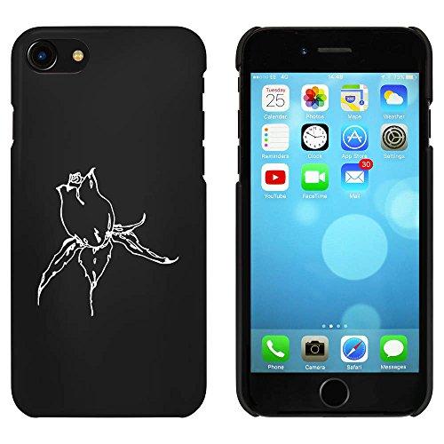 Noir 'Corolle' étui / housse pour iPhone 7 (MC00057711)
