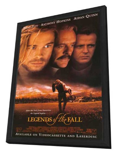 Legends of the Fall - 27 x 40 Framed Movie Poster by Movie Posters