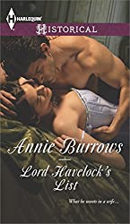 Lord Havelock's List (Harlequin Historical)
