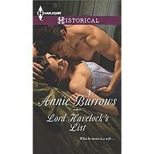 Lord Havelock's List (Harlequin Historical)