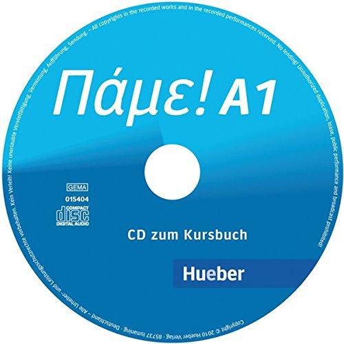 Pame  A1  Der Griechischkurs   Audio CD Zum Kursbuch