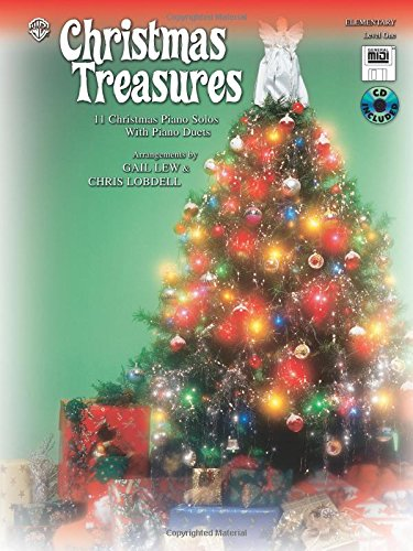 Christmas Treasures: 11 Christmas Piano Solos with Piano Duets (Level 1), Book, CD & General MIDI - Christmas Midi Piano Music