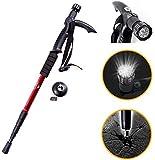 Lista Lista045 Adjustable 9 LED Anti Shock Trekking Hiking Pole Vault Stick