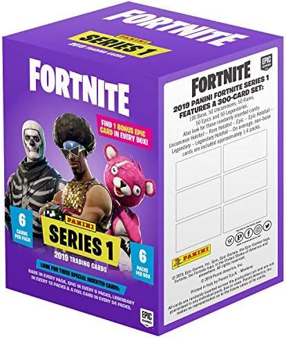 Panini 97672 Fortnite - Juego de Cartas coleccionables (6 Paquetes de Cartas: Amazon.es: Juguetes y juegos