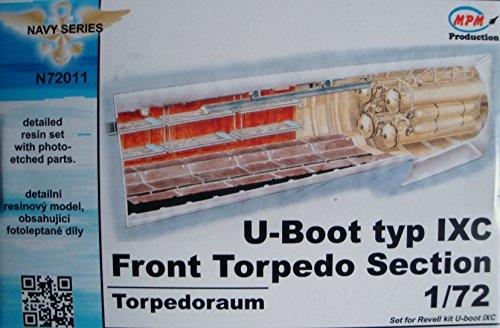 CMK N72011Torpedo Submarine Type IX–Model Accessories Front Section F Regulation