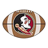 Fanmats NCAA Florida State University Seminoles Nylon Face Football Rug