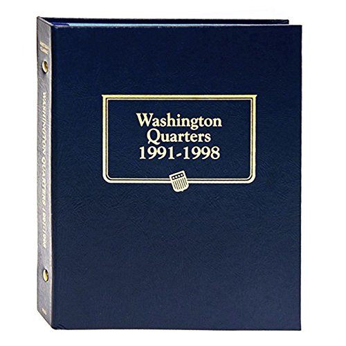 (Whitman US Washington Quarter Coin Album 1991-1998 #9123)