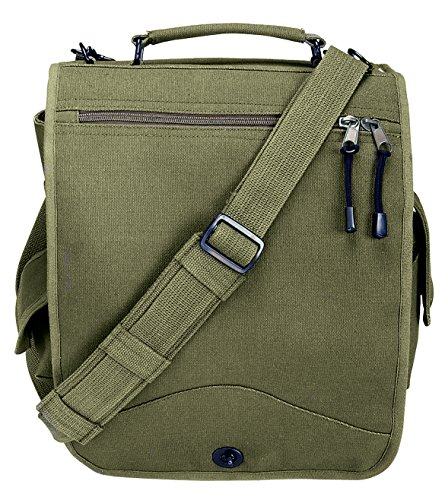 Rothco Canvas M-51 Engineers Field Bag, Olive Drab