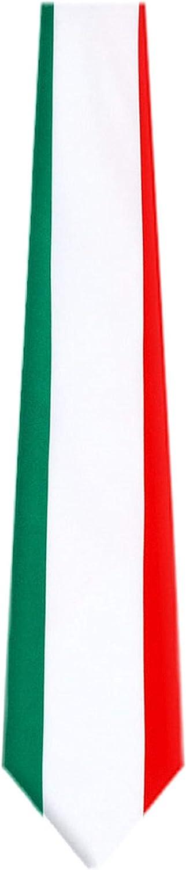 FLAG-314 - Italian Flag Mens Necktie