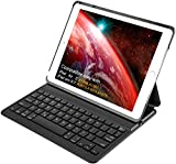PC Hardware : Inateck iPad Air 2,iPad Pro 9.7 Inch Keyboard Cover with Intelligent Switch and Multi-Angle Stand 【Not compatible with 2017 New iPad 9.7 inch/iPad Air1】,Black
