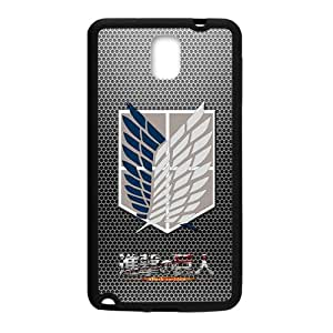 Attack On Titan Fashion Comstom Plastic case cover For Samsung Galaxy Note3
