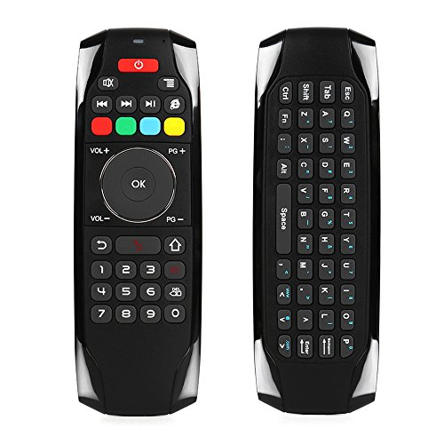 Air Mouse Wireless Keyboard Remote Control Infrared Remote Learning 6-Axis Motion Sensing for Smart TV/Android TV BOX/PC,2.4G by Walmeck