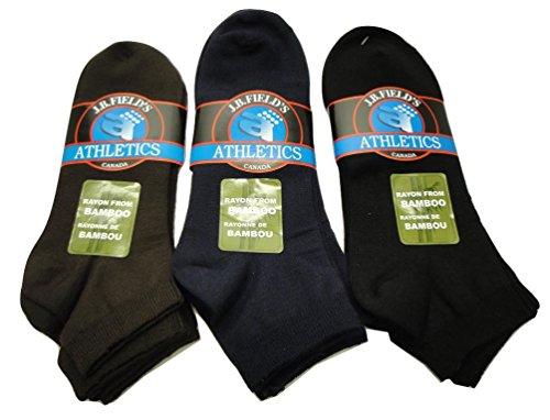 Women's Rayon from Bamboo Low-cut 3PK Sport Socks (5-9 Shoe)