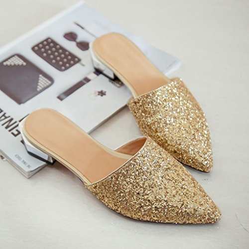 Mules Mules Or Femme Or Mules Or Femme JYshoes JYshoes Femme JYshoes wZYx7CFq6