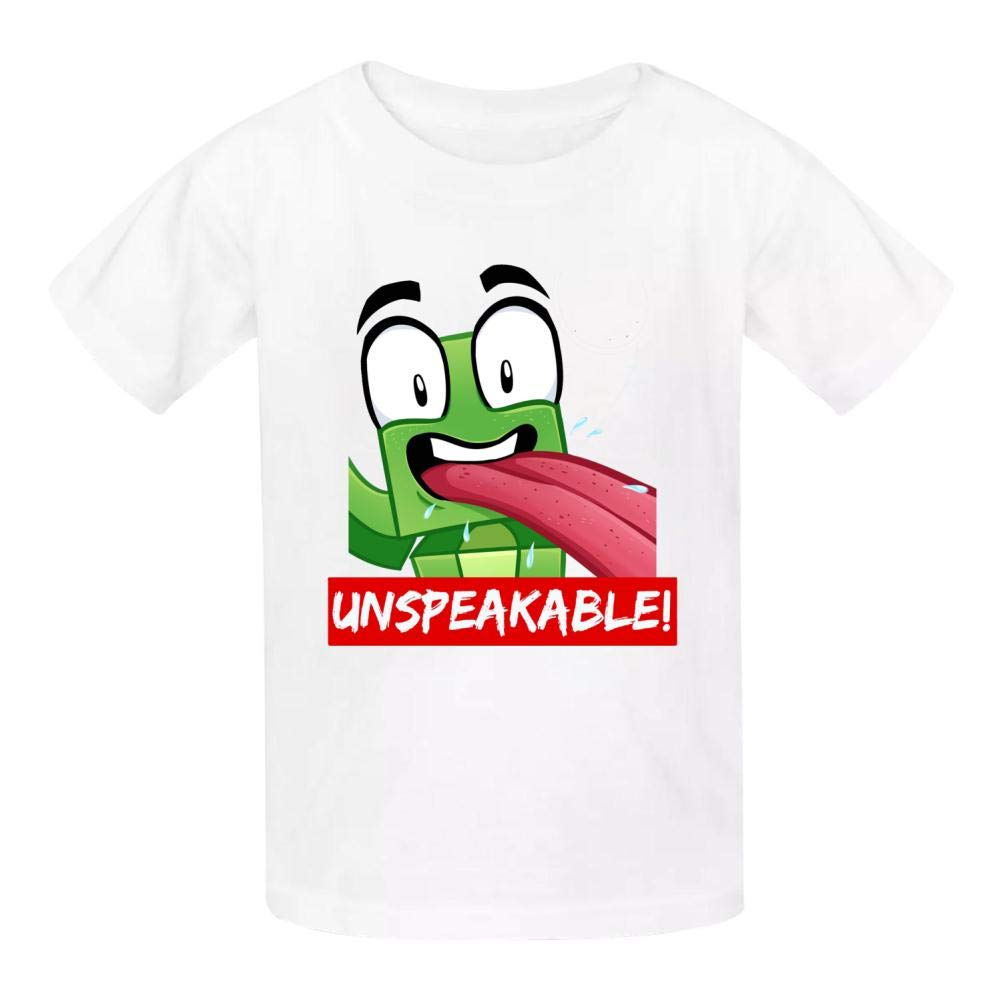Un-Speakable Logo Kids T-Shirts Short Sleeve Tees Summer Tops for Youth//Boys//Girls