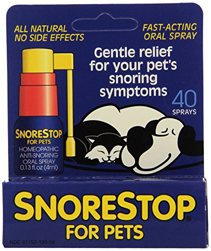 Ronfler Stop animaux 40 Spray Applications Snore Stop 1 Spray (0,13 fl. oz)