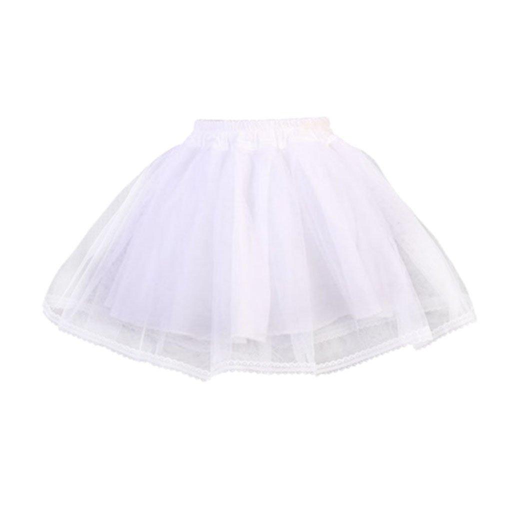 Sweet Girl Lolita Skirt, Princess Ballet Lace Skirt, Bridal Petticoat