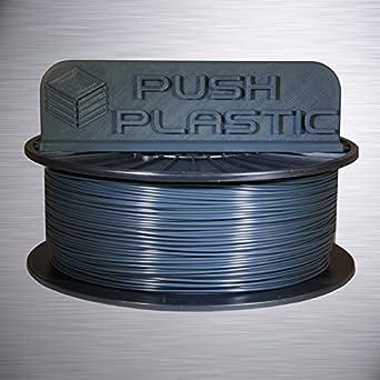 Amazon.com: Push Plastic 1.75mm Dark Grey PLA 3D printer ...