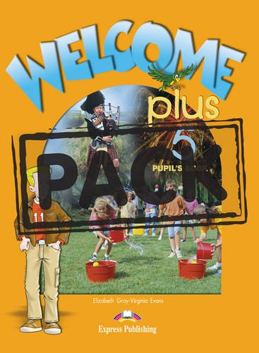 Welcome Plus 5 - Pupil's Book with Audio CD