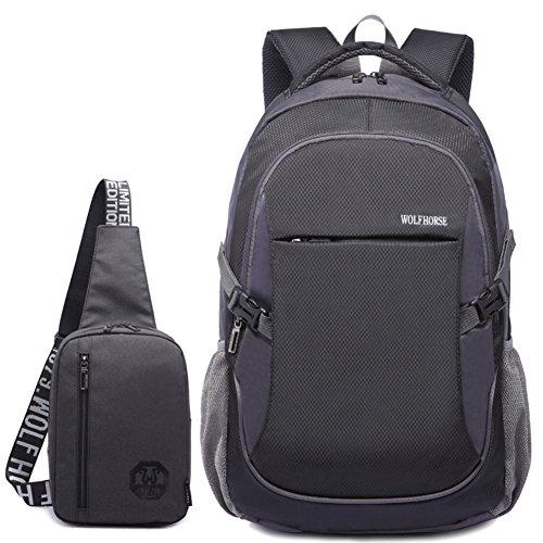 Bolso de hombro de los hombres/[mochila]/Bolso de mujer/Academia los estudiantes de secundaria en las bolsas de viento/bolsos de la computadora de negocios casual-E E