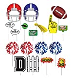 football decoration for party - Football Party Decorations- Football Photo Booth Props- 18 Pcs