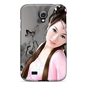 GfPmrnd7193XKGNJ Tpu Case Skin Protector For Galaxy S4 Oriental Beauty With Nice Appearance