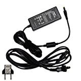 HQRP AC Adapter for Casio WK-220 / WK220 / WK-225 / WK225 Keyboards Power Supply Cord plus HQRP Euro Plug Adapter