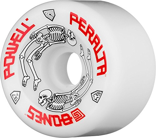 Powell-Peralta G-Bones 97A Skateboard Wheels (White, 64mm)