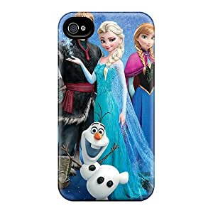 Pretty EyX11326BUnK Ipod Touch 4 Cases Covers/ Frozen 2013 Movie Series High Quality Cases