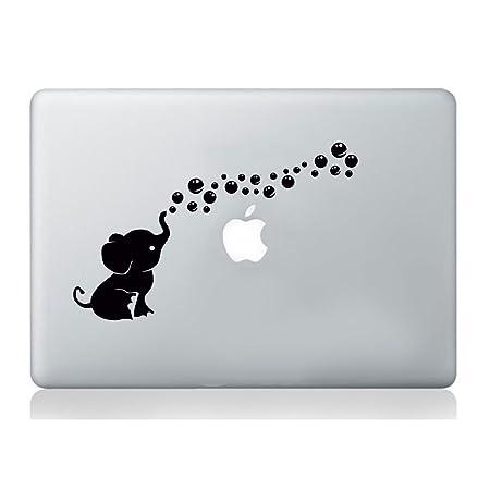 Elefant Aufkleber Apple macbook Laptop Abziehbild Kunst Grafik Vinyl lustig Wandbild