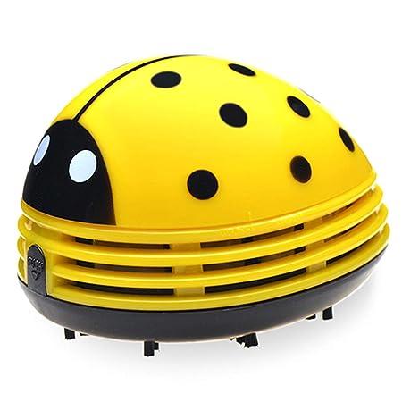 Sarplle Mini aspiradora Ladybug Aspirador inalámbrico con Teclado ...