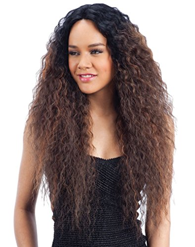 MAXI (SOP430) - Freetress Equal Synthetic 6 inch Deep Lace Side Part Wig (Way Milky Flat)