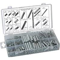 200 Pcs Steel Zinc Plated Compression Tools Spring Assortment Kits