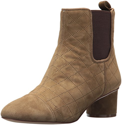 Nine West Women's Interrupt Ankle Boot, Green Multi Suede, 6.5 Medium US