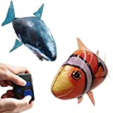LOBZON Remote Control Flying - Fish - Air Swimmers Remote Control-Flying Clownfish