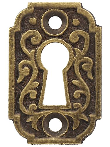 Joplin Keyhole Cover in Antique-by-Hand. ()