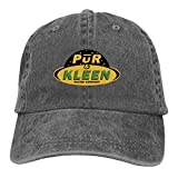 TWHDMMH745 Pur N Kleen Baseball Cap Adjustable Personalise Denim Dad Hat Charcoal