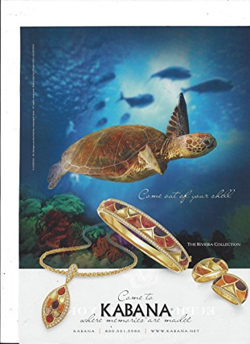 PRINT AD For Kabana Jewelry Riviera Collection Come for sale  Delivered anywhere in USA