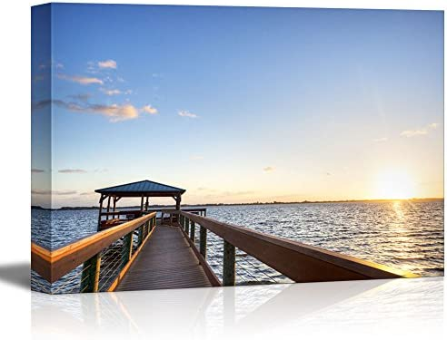 Indian River in Florida at Sunrise Home Deoration Wall Decor