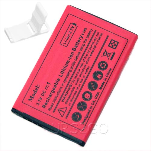 High Power 1350mAh Spare Replacement Battery for U.S. Cellular LG Wine III UN530 Phone with Additional Valueable Accessory (See Picture) (Best Low Price Wine)