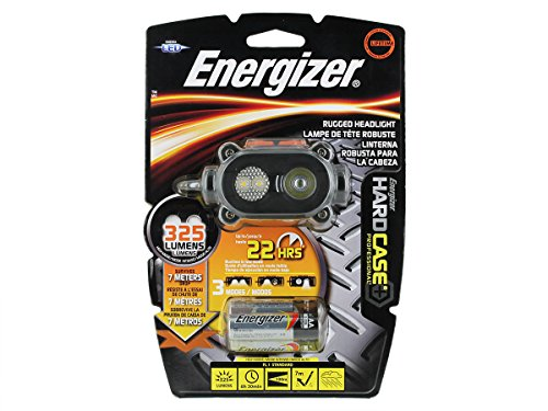LED Headlight, 3 AA, Black and Gray (Energizer 4 Aa Led Light)