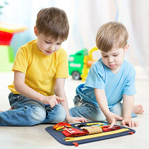 superwinky Learning Toys Busy Board for Toddler Gifts