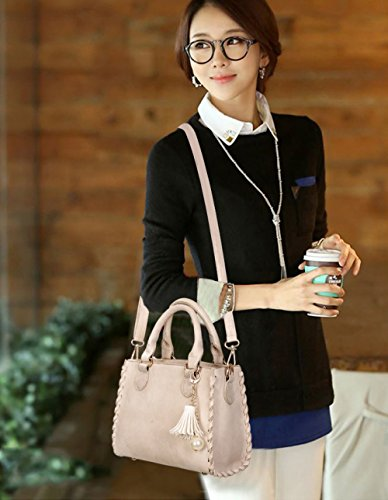 Ladies New Beige Wild Bag Women's Autumn Bag Shoulder Handbag Messenger Bag YXLONG Korean Bag Retro Fashion Tide Square YAHqx