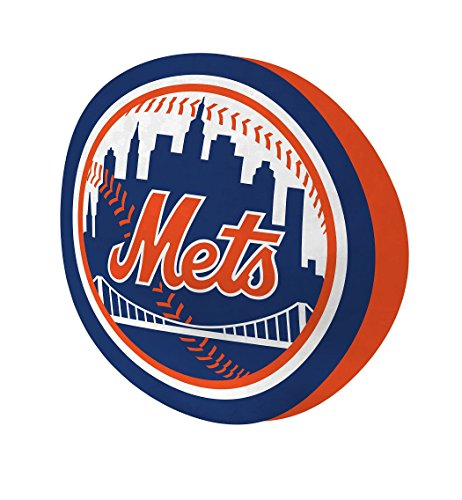 Mlb Pillowcase - The Northwest Company MLB New York Mets Cloud Logo Pillow, One Size, Multicolor