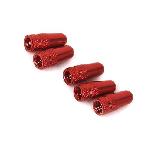 Rouge Aofocy Paquet de 5 Capuchons Anti-poussi/ère pour Capuchons de Valve /à air comprim/é