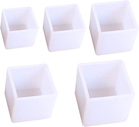 DIY Cube Silicone Mold Making Jewelry Resin Casting Ornaments Craft 20mm