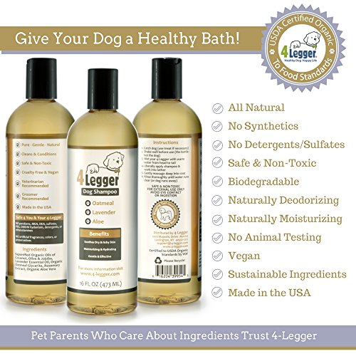 Buy all natural dog shampoo