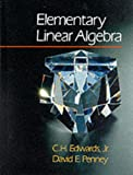 Elementary Linear Algebra, Edwards, 0135194229